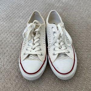Converse Crochet Chuck Taylor Low Top Sneakers